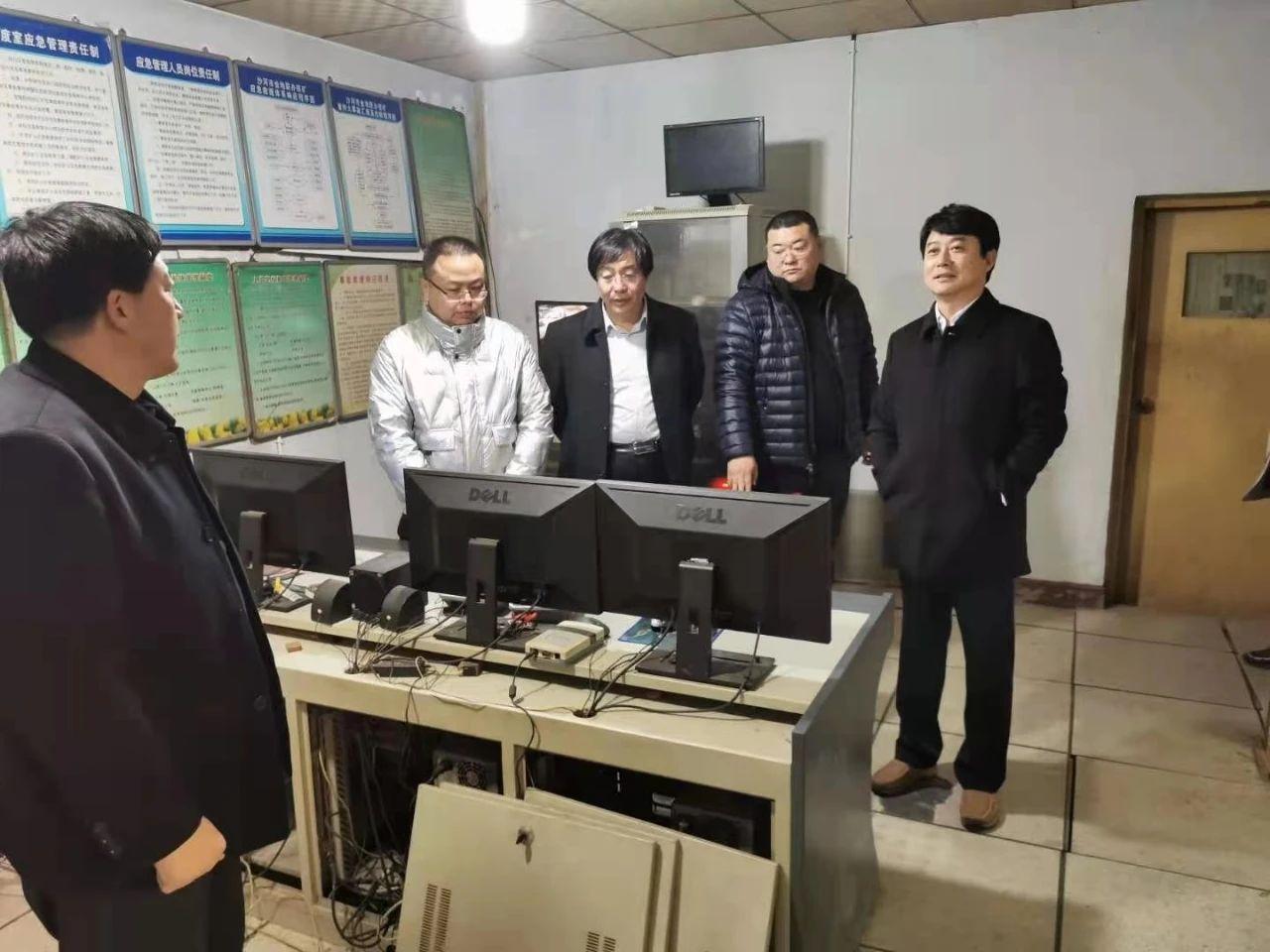 市长wang文玉就jing济运行、安全生产等工作进行现场调研