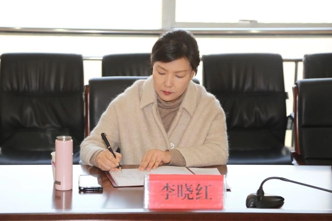 副市长李晓红工作调研住jian工作